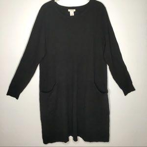 Sundance Black Sweater Dress EUC